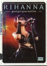 DVD RIHANNA GOOD GIRL GONE BAD LIVE SEALED NEW SLIDEPACK EDITION