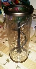 Pier 1 Imports Spiral Suspended Candle Holder In-Glass Shell  Container