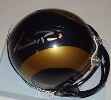 Isaiah Pead signed St Louis Rams mini football helmet w/coa Dolphins