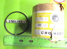 Montesa 23M NOS 250 La Cross Chrome Piston Ring 72.80 +10 Over p/n 2360.022  # 1