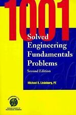 1001 Solved Engineering Fundamentals Problems by Michael R. Lindeburg (1997,...