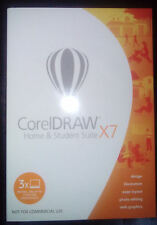 CorelDRAW (CDHSX7IEMBEU) Home and Student Suite X7 - 3 PCs Windows 7, 8 and 10