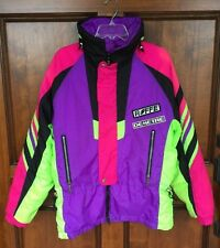 Vintage 80s 90s Roffe Demetre Skiwear Buddys Run Neon Thinsulate Jacket Men's M