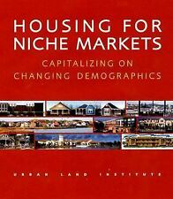 NEW ~ HOUSEING  FOR NICHE MARKETS ~ ILLUSTRATED HB-DJ