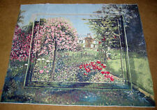 Summer Plantation Mirror Grande Tapestry Wall Hanging Crafters Fabric Piece