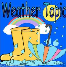 WEATHER topic  teaching resource  Weather Chart EYFS KS1 Childminder Noah's ark