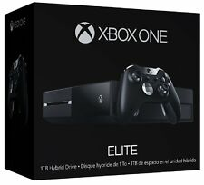 New Microsoft Xbox One Elite Bundle 1TB Black Console With Elite Controller Pad