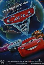CARS 2 - A3 Poster (ca. 42 x 28 cm) - Film Plakat Sammlung Clippings NEU