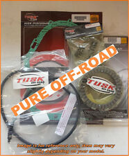 Tusk Clutch, Springs, Cover Gasket & Clutch Cable for Honda TRX 400EX 1999-2004