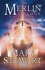 The Merlin Trilogy by Mary Stewart (2004, Hardcover)
