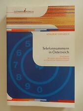 Telefonnummern in Österreich Adalbert Dirnbeck Chronik