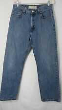 LEVI'S 505 Regular Fit Mens W34 x L32 Blue Denim Jeans Pants