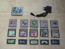 GameBoy Advance SP GBA + 3 Gratis Spiele