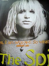 Courtney Love Hole 3 Page Article Interview from Kerrang Magazine Nirvana