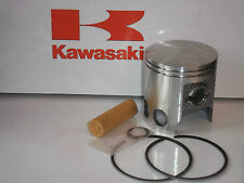 KAWASAKI KE175 D PISTON KIT +0.5mm NEW JAPAN REED VALVE