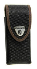 NYLON SWISSTOOL SPIRIT PLUS BELT POUCH_BLACK/BROWN VICTORINOX SWISS ARMY #33262