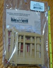 DPM Design Preservation Models HO #30142 Street Level Victorian Windows (4pcs.)