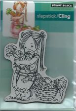 """Carrot Collecter"" Slapstick/Cling Stamp by Penny Black"