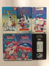 Frosty the Snowman (VHS, 1998) & Frosty Returns, The Rudolph, Frosty And Friends