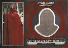 "Star Wars Chrome Perspectives - #29 of 30 Silver Helmet ""Emperor's Royal Guard"""