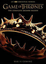Game of Thrones:  2nd Season (DVD, 2015, 5-Disc Set)NEW,mails 1st class w/track