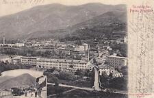 C3387) PEROSA ARGENTINA (TORINO), PANORAMA E VEDUTINA CON LA STAZIONE. VG 1903.