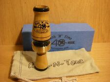 40th RNT Rich-N-Tone Short Barrel Burnt Bois D'Arc Mallard Duck Call Hedge Wood