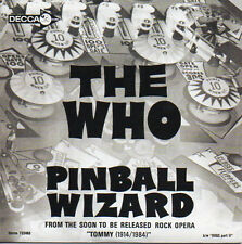 ★☆★ CD Single The WHO Pinball Wizard - Dogs part II - 2-track CARD SLEEVE  ★☆★