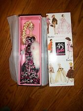 45TH ANNIVERSARY SILKSTONE Barbie 2003 Fashion Model Limited Ed