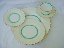 (6) 5pc PLACE SETTINGS MINTON CHINA LADY RODNEY S411 30pc BARGAIN PRICED