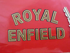 "Royal Enfield Motorcycle Cut Text Sticker 4"" Special Offer Bullet Interceptor"