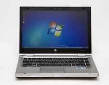 "HP EliteBook 8470p 14"" i5 3rd Gen 2.6GHz 8GB 256GB SSD 1600x900 Webcam W7 Laptop"