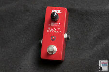 NEW BBE Sonic Stomp Maximizer Mini MS-92 Red Pedal Ships Worldwide