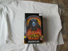 Star Wars Two ROTS Collector's Case 5 packs, NEW.UNOPENED