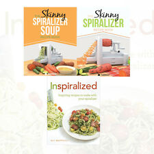 The Skinny Recipe Book Collection (Inspiralized,Spiralizer Soup )3 Books Set New