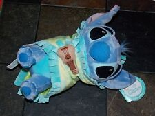 "Disney Parks Lilo and Stitch Baby Babies Stitch Blanket Plush Doll Toy 10"" (NEW)"