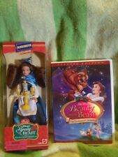 DISNEY BEAUTY AND THE BEAST ENCHANTED CHRISTMAS, Block Buster Doll And ,  DVD.