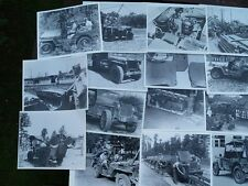 Wartime Jeep Photographs book Willys MB Ford GPW US Army Jeep rare photos jeeps