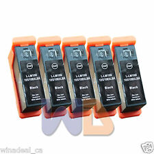 5 BLACK Lexmark 100XL 105XL 108XL 100 XL Compatible Ink Cartridge Lexmark 100XL
