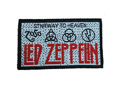 LED ZEPPELIN Embroidered Rock Band Sew On Patch UK SELLER Patches