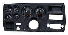 1973-87 Chevy Truck C10 Black Alloy Dakota Digital HDX Customizable Gauge Kit