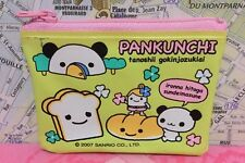 A Very Cute Sanrio 2007 Pankunchi Zipper Coin Purse Panda Bear Hello Kitty