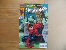 1994 VINTAGE MARVEL SPIDER-MAN 45 PETERS PARENTS SIGNED BY SCOTT HANNA, WITH POA