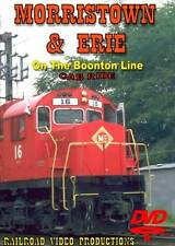 Morristown & Erie on the Boonton Line Cab Ride DVD NEW Walter Berko Alco C-430
