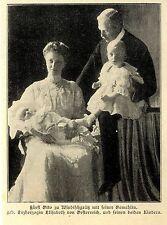 Fürst Otto zu Windischgrätz ( Familie ) Historische Aufnahme von 1905