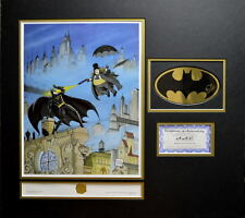 BATMAN RETURNS - PENGUIN'S REVENGE #188/250 HAND SIGNED BOB KANE LOGO PRO MATTED