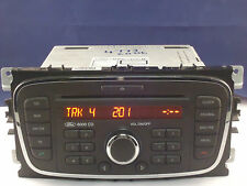 FORD 6000 CD Radio Lettore Codice FOCUS MONDEO GALAXY SMAX 2007 2008 2009 2010 2011