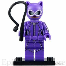 Custom Catwoman 2017 movie Minifigure DC Comic Fits with Lego PG106 UK Seller