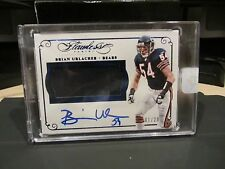 Panini Flawless Blue On Card Autograph Jersey Bears Brian Urlacher 01/20  2015