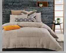 Pure Linen Designers Choice King Bed Oliver Quilt Cover Set